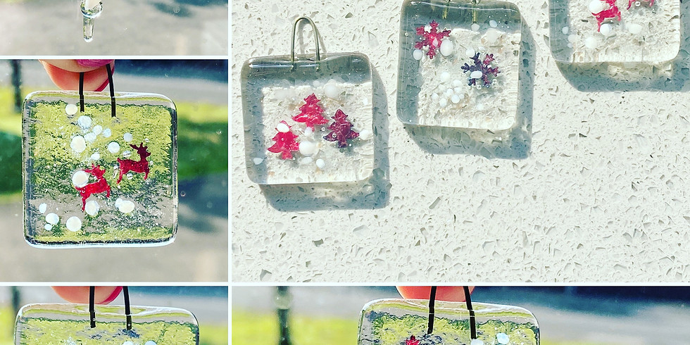 Glass Fusing Christmas decorations pm 6pm-8.30pm