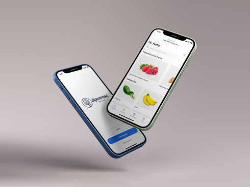 Alpenrose Grocery Delivery App