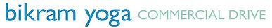 Bikram yoga commercial logo