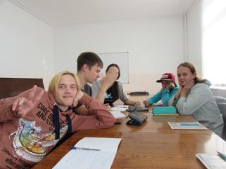 Прошло собрание юных журналистов