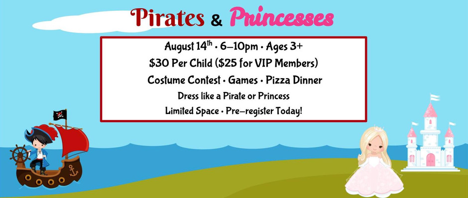 Pirates and Princesses Party