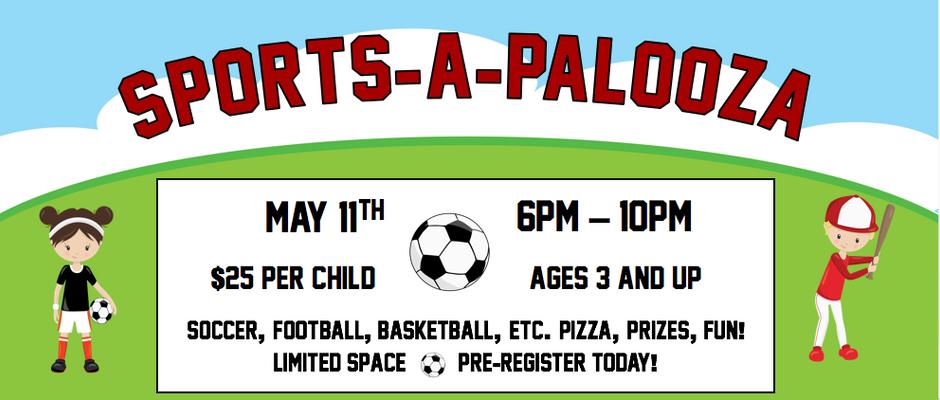 Sports-A-Palooza Party