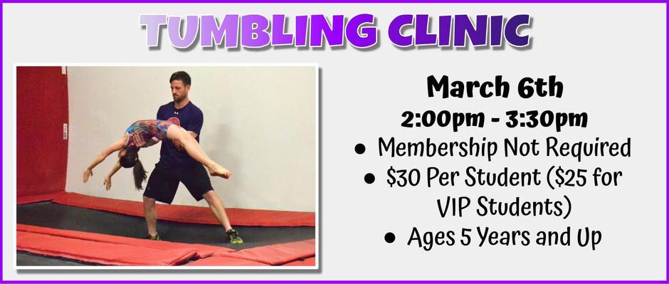 Tumbling Clinic 3/6