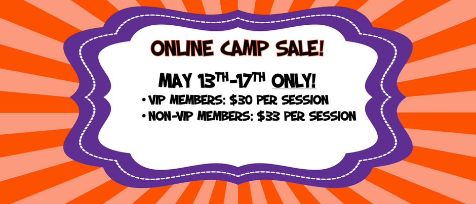 Online Camp Sale