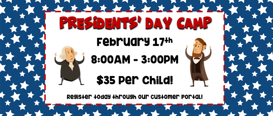 Presidents' Day Camp