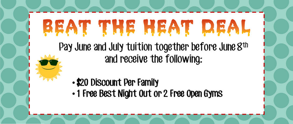 Beat the Heat Deal