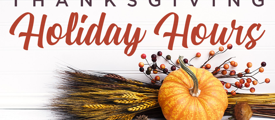 Thanksgiving Camps and Hours