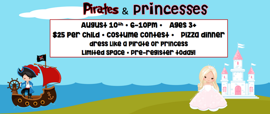 Pirates & Princesses Party