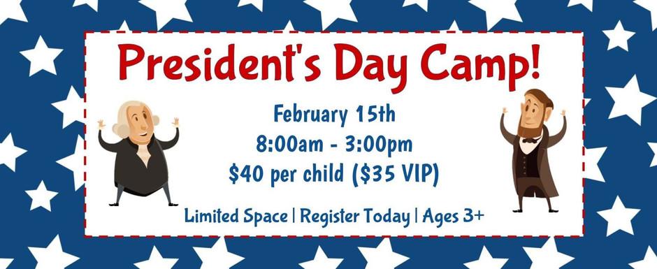 President's Day Camp