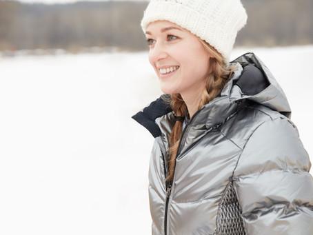 Féminine et élégante, même en hiver !