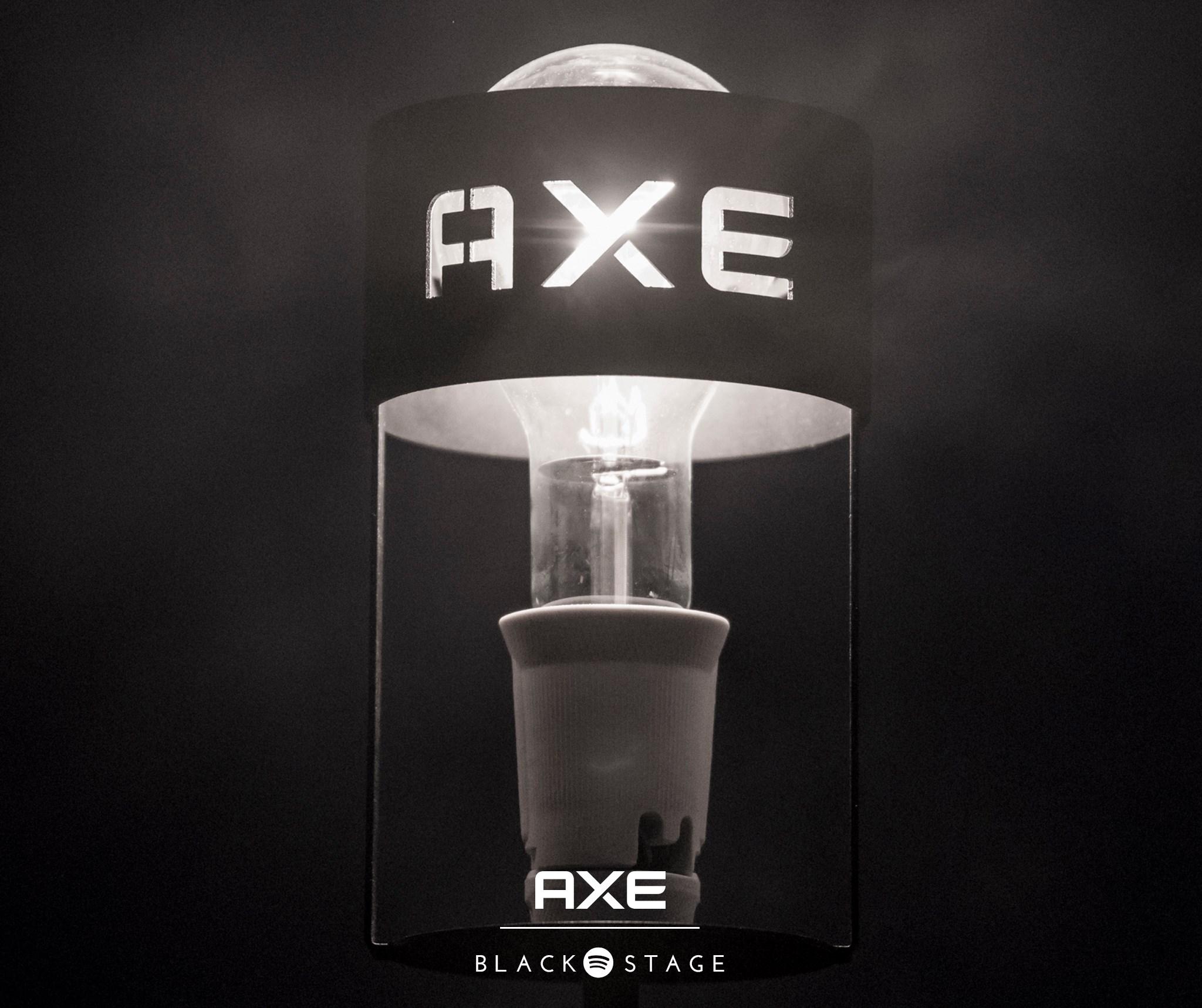 #AXEblackstage