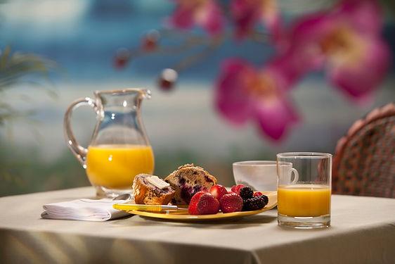 ファンシー朝食