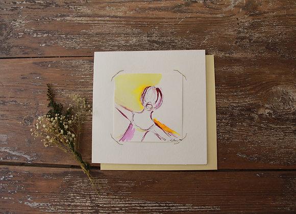 """DETAIL III"" Encres sur papier by MARCELA ZEMANOVA"