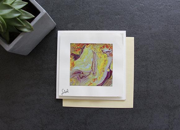 """""""VOYAGE COLORE 6"""" Peinture acrylique by SIBEL"""