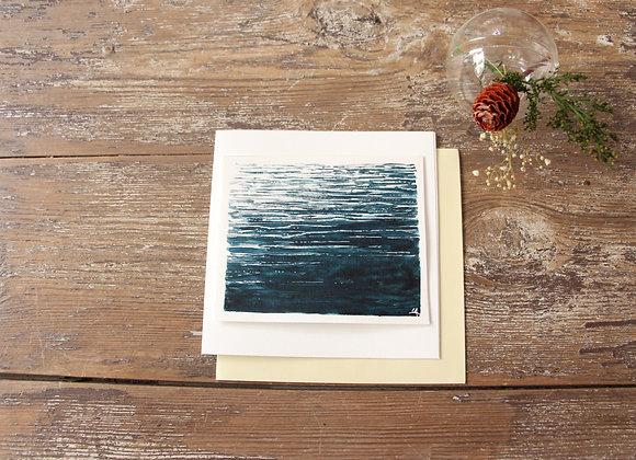 """""""REFLETS DE LUNE"""" Aquarelle by CLAIRE BAUDRY"""