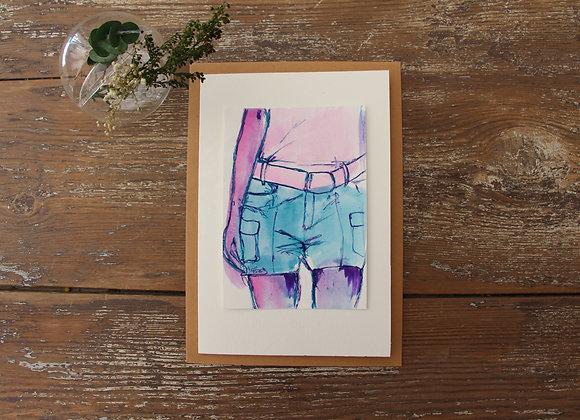 """""""EN SHORT"""" Esquisse by ELIZE PIGMENTROPIE"""
