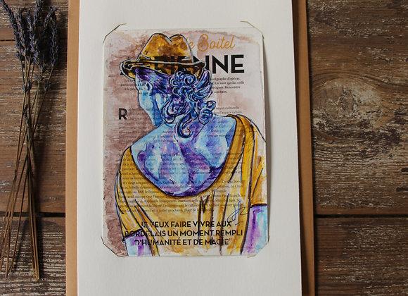 """""""MARIA"""" Peinture by AIMERE"""