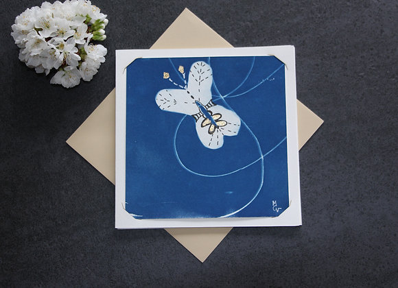 """""""OEUVRE 66"""" Cyanotype et dessin by MCV"""