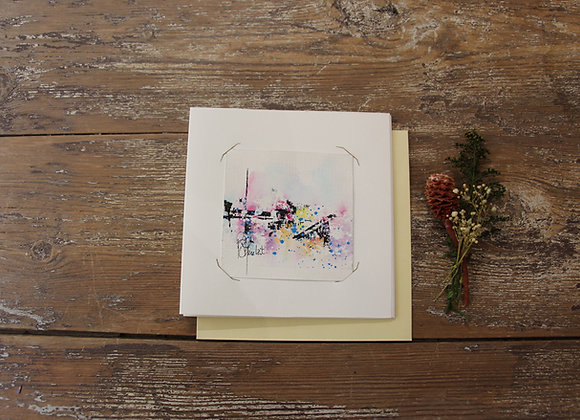 """""""COMPO 100-3"""" Encre de chine et encre aquarelle by BERNARD NEULAT"""