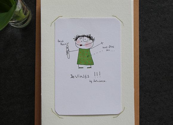 """""""DEVINES!!!!""""Encre et crayon by SOFIE CHEZE"""