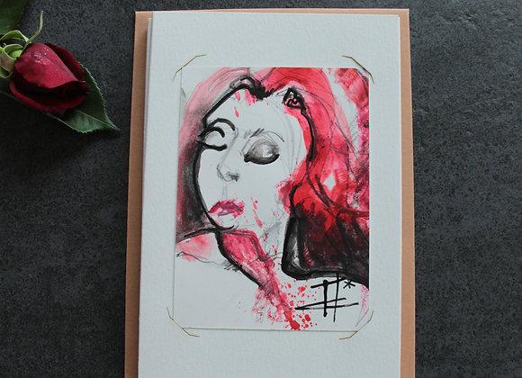 """OEUVRE 6"" Encres et crayon by MARIE COLIGNON"