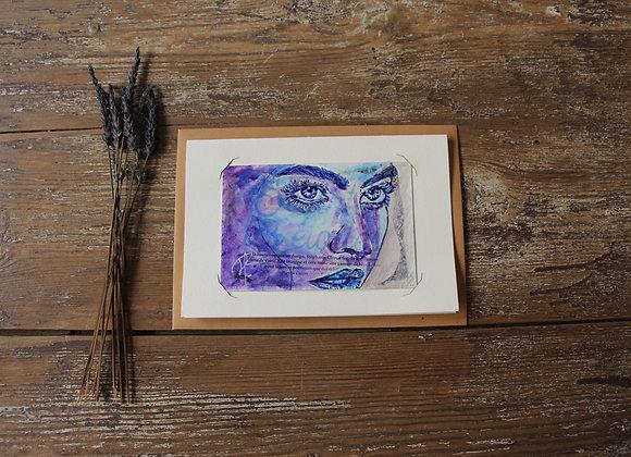 """""""GWENDOLINE"""" Peinture by AIMERE"""