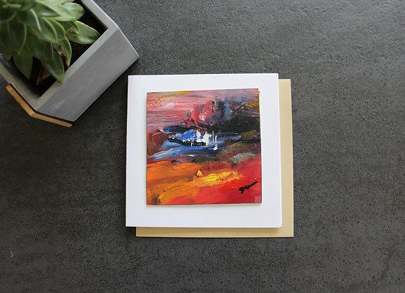 """OEUVRE 11""Peinture by STELIANA MOCANU"