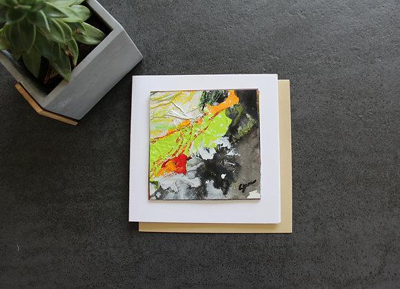 """OEUVRE 10""Peinture by STELIANA MOCANU"