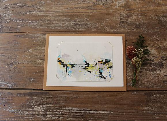 """""""COMPO 105-5"""" Encre de chine et encre aquarelle by BERNARD NEULAT"""