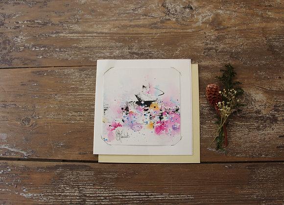 """""""COMPO 133-3"""" Encre de chine et encre aquarelle by BERNARD NEULAT"""