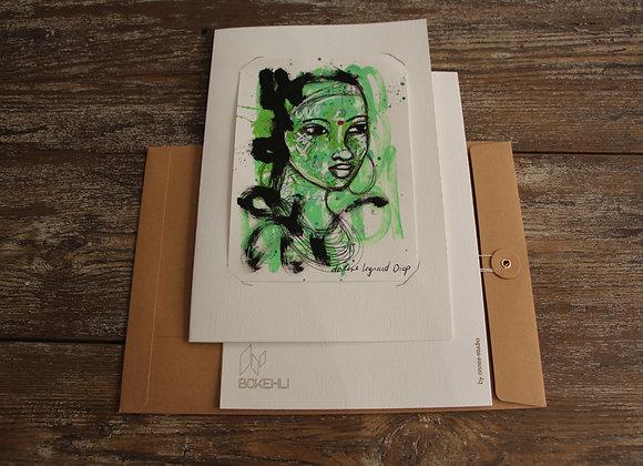 """DESSIN 17"" Dessin au marqueur et stylo by DOLINE LEGRAND DIOP"