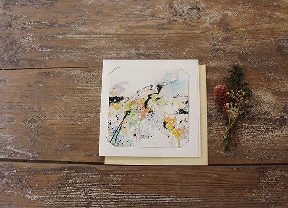 """""""COMPO 133-4"""" Encre de chine et encre aquarelle by BERNARD NEULAT"""