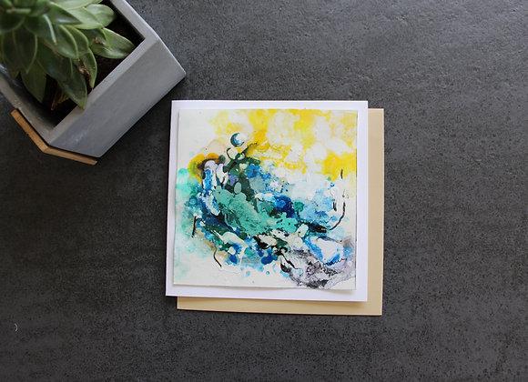 """OEUVRE 35"" Peinture by STELIANA MOCANU"