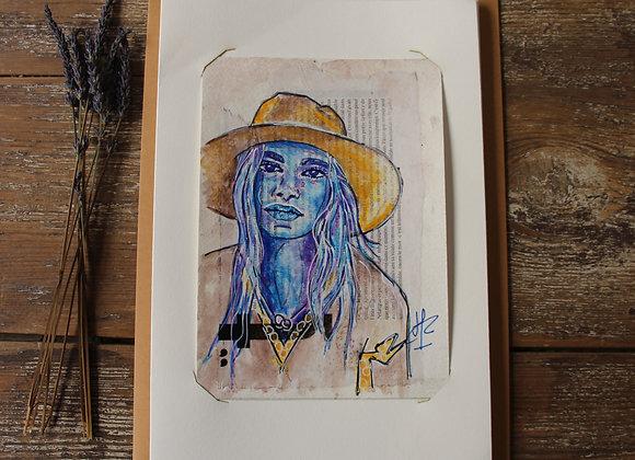 """PRISCA"" Peinture by AIMERE"