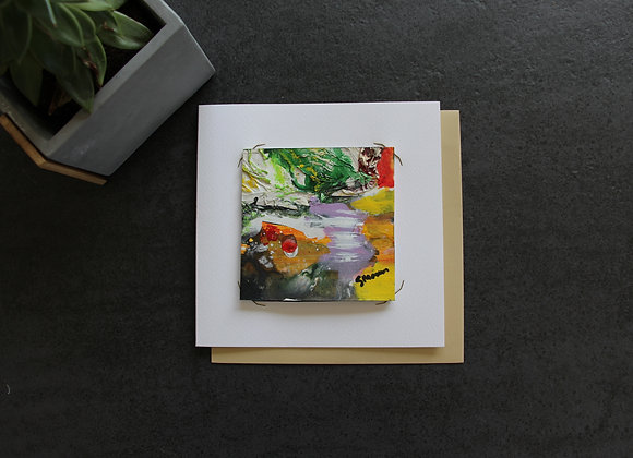 """OEUVRE 4""Peinture by STELIANA MOCANU"