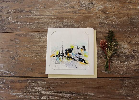 """""""COMPO 133-1"""" Encre de chine et encre aquarelle by BERNARD NEULAT"""