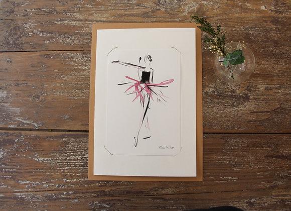 """""""ROSE I"""" Dessin à l'encre by MARCELA ZEMANOVA"""