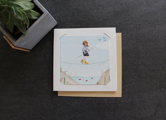 """OEUVRE 1 "" Aquarelle by MARJOLINE FLEUR"