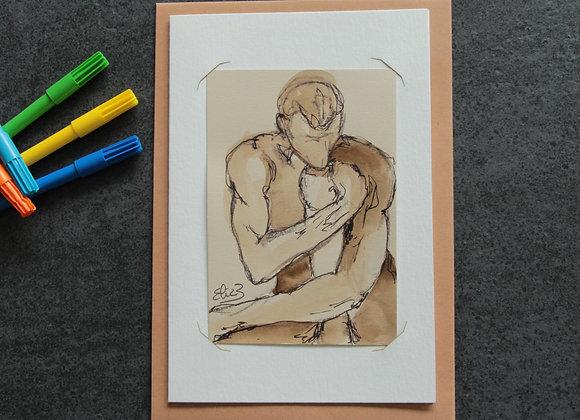 """""""OEUVRE 20""""Dessin encre et feutre by ELIZE"""