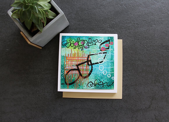 """""""PETIT MONDE SOUS MARIN"""" Peinture acrylique by NADI"""