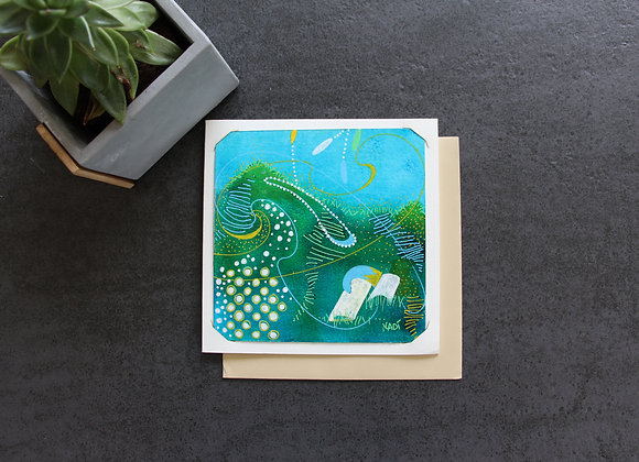 """MON BASSIN D'ARCACHON"" Peinture acrylique by NADI"