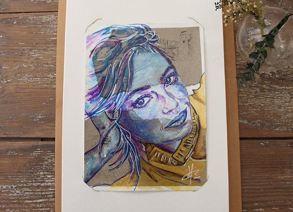 """CORALINE"" Peinture by AIMERE"