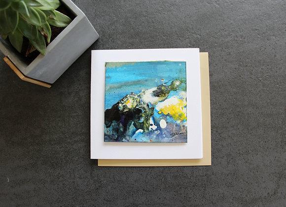 """OEUVRE 30"" Peinture by STELIANA MOCANU"