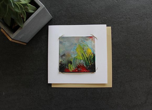 """OEUVRE 25""Peinture by STELIANA MOCANU"