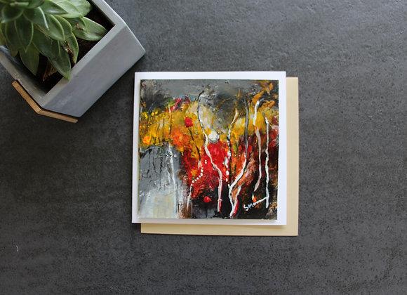 """OEUVRE 17""Peinture by STELIANA MOCANU"