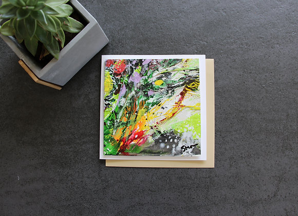 """OEUVRE 13""Peinture by STELIANA MOCANU"