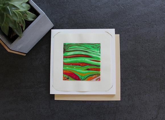 """VOYAGE COLORE 13"" Peinture intuitive by SIBEL"