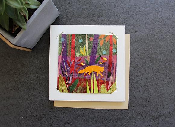 """FURTIF"" Collage sur papier by SIDO"