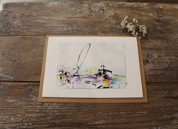 """""""COMPO 151-5"""" Encre de chine et encre aquarelle by BERNARD NEULAT"""