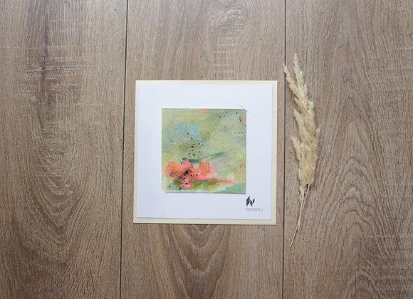 """WATERLILIES #25"" Peinture de ESTELLE SERE"